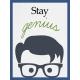 Genius Card Stay Genius