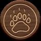 Wood Flair _ Bear print