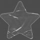 Clear Plastic Pocket- star