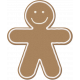 Home for the Holidays- Gingerbread Man