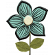 Mod Doodle Flower (03)
