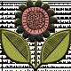 Mod Doodle Flower (07)