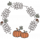 Fall In Love Stamp (wreath)