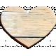 Selfie Time Wood Heart