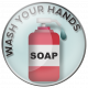 Wash Your Hands- soap flare