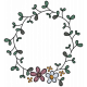 Vintage Memories (wreath sticker 02)
