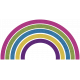 Bright & Cheerful Rainbow (01)