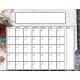 Blue Jeans & Sneakers Blank Calendar 01