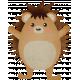 Autumn Wind Elements- hedgehog 02