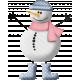 Christmas Cuties Mini - snowman 01