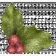 Christmas Cuties Flowers- holly 03