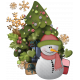 Christmas Cuties Clusters- Cluster 02
