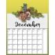 Christmas Cuties Planner- Calendar 01