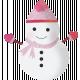 Snow Beautiful (Kit) - snowman 01