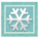 Snow Beautiful (Labels And Snippets)- snippet snowflake