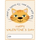 Everyday Is Caturday (Valentine Card 05)