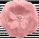 PINK CLOTH FLOWER