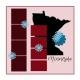 Layout Template: USA Map – Minnesota