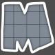 Alphabet Layout Template Letter M