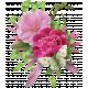Pink floral Cluster 03