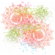 Faded & Blurred Watercolor Paint Splatter