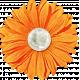 Our House Nov2014 Blog Train- Orange Flower