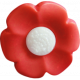 Our House Nov2014 Blog Train- Red Flower Button