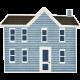 Our House- Blue House