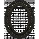 No Tricks, Just Treats Add-0n- Black Oval Frame