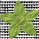 Spookalicious- Little Green Flower