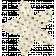 Spookalicious- Little Green Polka Dot Flower