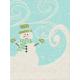 Sweater Weather- Journal Card- Snowman