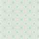 Sweater Weather Papers- Blue Ornate Snow Flakes