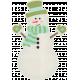 Sweater Weather - Snowman Sticker
