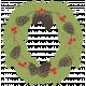 Sweater Weather- Wreath Rub-on