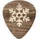 Sweater Weather- Wood Pointer With Snowflake
