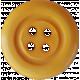 Button Mix 01- Gold 4-Holes Button # 08