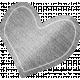 Furry Friends- Kitty- Paper Heart 02 Template