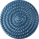 Button Mix Set #03- Button 10- Blue Swirl