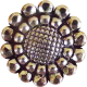 Jane - Vintage Metal Button