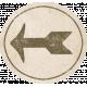 Jane- Word Art- Circle Tag- Arrow