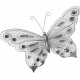 Shine- Butterfly Template