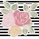 Renewal May 2015 Blog Train Mini Kit - Rose Cluster Sticker