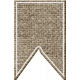 Rustic Charm Feb 2015 Blog Train Mini Kit- Burlap Banner Piece