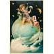 Vintage New Years Cards- Globe (no words)