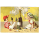 Vintage New Years Cards- Champagne Tots
