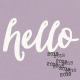 Best is Yet To Come 2018- Journal Card Hello 2