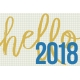 Best is Yet To Come 2018- Journal Card Hello 3