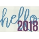 Best is Yet To Come 2018- Journal Card Hello 3b