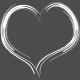 Pocket Basics 2 Photo Overlays - Heart 4